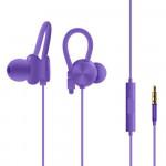 Sluchátka kabelová - fialová