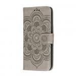 Pouzdro Motorola Moto G8 Power Lite - šedé - Mandala