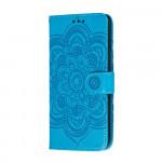 Pouzdro Motorola Moto G8 Power Lite - modré - Mandala
