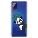 Pouzdro Galaxy A21s - Průhledné - Panda