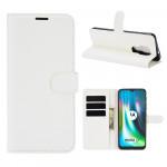 Pouzdro Motorola Moto E7 Plus / G9 Play - bílé