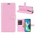 Pouzdro Motorola Moto E7 Plus / G9 Play - světle růžové