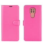 Pouzdro Motorola Moto E7 Plus / G9 Play - tmavě růžové