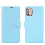 Pouzdro Motorola Moto G9 Plus - modré