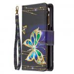 Pouzdro s peněženkou Realme 6 - Motýli 02