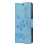 Pouzdro Motorola Moto G9 Plus - modré motýli