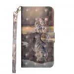 Pouzdro Galaxy S10 Lite - Kotě a tygr 3D