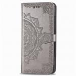 Pouzdro Galaxy Note 10 Lite - šedá mandala