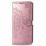 Pouzdro Galaxy Note 10 Lite - růžová mandala