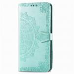 Pouzdro Galaxy Note 10 Lite - tyrkysová mandala
