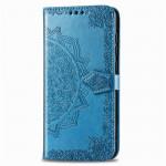 Pouzdro Galaxy Note 10 Lite - modrá mandala