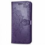 Pouzdro Galaxy Note 10 Lite - fialová mandala