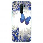 Obal Xiaomi Redmi 9 - Motýli