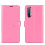 Pouzdro Realme X50 5G - tmavě růžové
