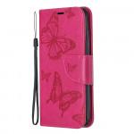 Pouzdro Xiaomi Redmi 7A - tmavě růžové motýli