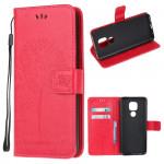 Pouzdro Motorola Moto E7 Plus / G9 Play - tmavě růžové - Strom