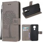 Pouzdro Motorola Moto E7 Plus / G9 Play - šedé - Strom