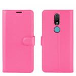 Pouzdro Nokia 2.4 - tmavě růžové 02