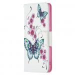 Pouzdro Nokia 2.4 - Motýli 02