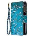 Pouzdro s peněženkou Realme 6 - Květy