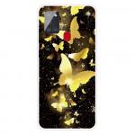 Pouzdro Galaxy A21s - Motýli 01
