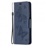 Pouzdro Xiaomi Mi 10T Lite 5G - modré motýli
