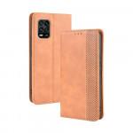 Pouzdro Xiaomi Mi 10 Lite - Vintage 02 - hnědé