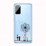 Pouzdro / Obal Galaxy A41 - Pampelišky - průhledné