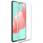 Pouzdro / Obal Galaxy A41 - průhledné