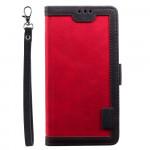 Pouzdro Galaxy A41 - červené - Vintage