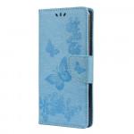 Pouzdro Xiaomi Mi 10 Lite - Motýli - modré