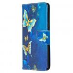 Pouzdro Galaxy A42 5G - Motýli 01