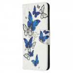 Pouzdro Galaxy A42 5G - Motýli 03