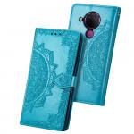 Pouzdro Nokia 5.4 - modré - Mandala