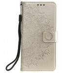 Pouzdro Xiaomi Redmi Note 10 - Mandala - zlaté