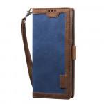 Pouzdro Galaxy A52 / A52 5G - modré - Vintage