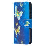 Pouzdro Galaxy A52 / A52 5G - Motýli 04