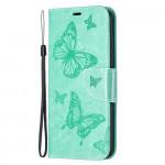 Pouzdro Nokia 5.4 - tyrkysové - Motýli