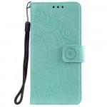 Pouzdro Galaxy A32 5G - tyrkysové - Mandala