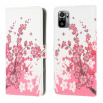 Pouzdro Xiaomi Redmi Note 10 / 10S Květy