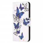 Pouzdro Nokia 5.4 - Motýli 03