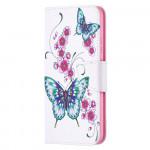 Pouzdro Nokia 5.4 - Motýli 04