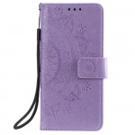 Pouzdro Xiaomi Mi 11 Lite - Mandala - fialové 02