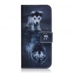 Pouzdro Nokia 5.4 - Štěně a vlk