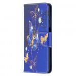 Pouzdro Galaxy A12 - Motýli 03