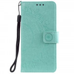 Pouzdro Xiaomi Poco M3 - Mandala - tyrkysové