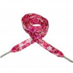 Módní tkaničky - růžové květy