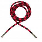 Kulaté tkaničky - Růžovo-černé