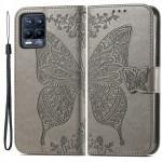 Pouzdro Realme 8 4G / 8Pro - šedé - Motýl