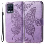 Pouzdro Realme 8 4G / 8Pro - světle fialové - Motýl